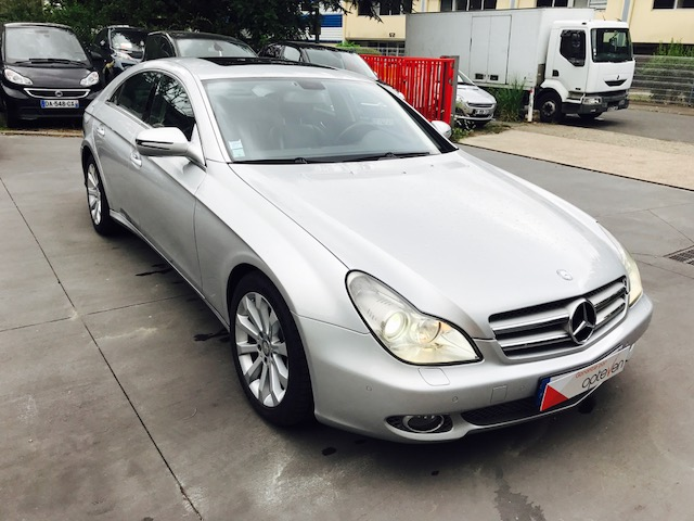 voiture mercedes classe cls 350 cdi a occasion diesel 2011 83500 km 19990 neuilly. Black Bedroom Furniture Sets. Home Design Ideas