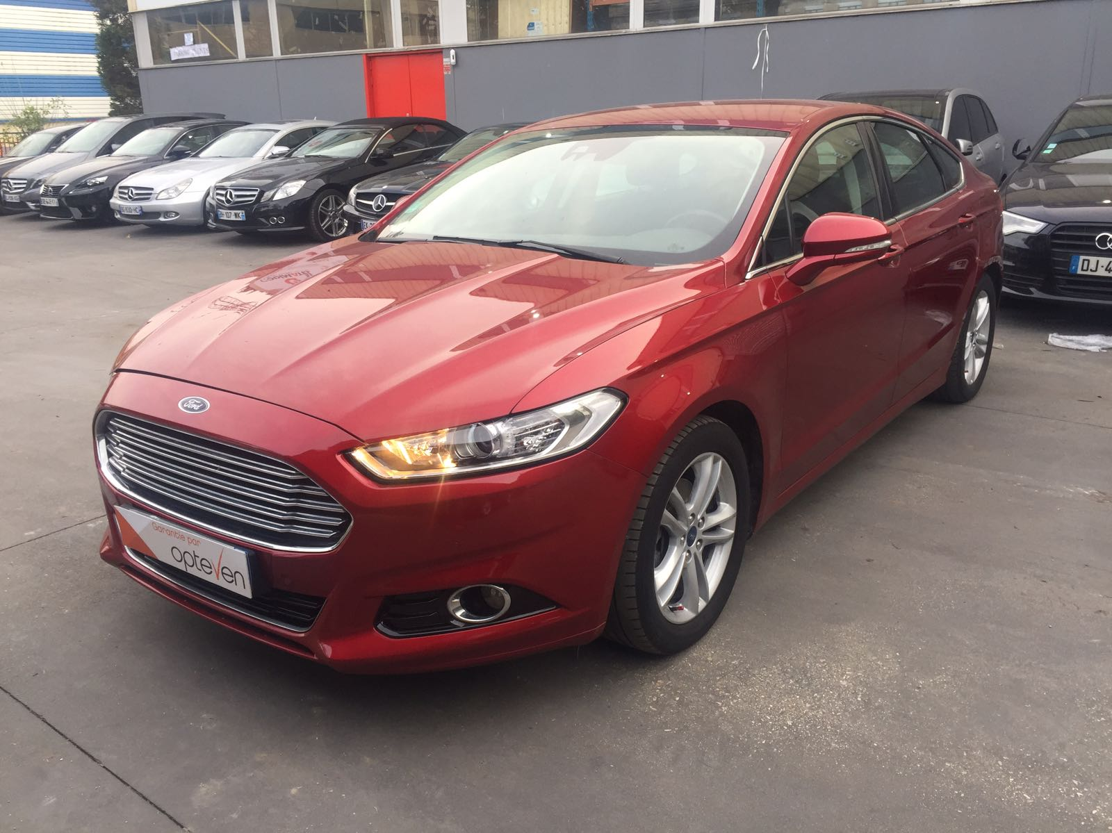 voiture ford mondeo 1 5 ecoboost 160 titanium occasion. Black Bedroom Furniture Sets. Home Design Ideas