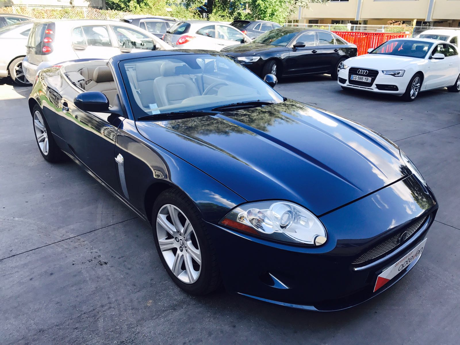 voiture jaguar xk 3 6l v8 258cv occasion essence 2010 62500 km 33990 neuilly sur. Black Bedroom Furniture Sets. Home Design Ideas