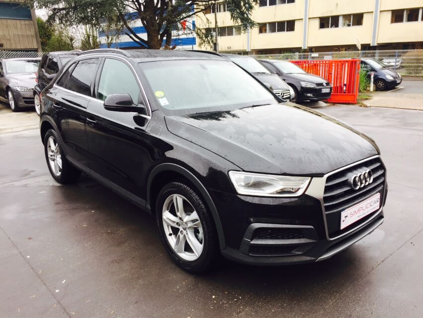 voiture audi q3 2 0 tdi 150 ch s tronic 7 quattro ambition luxe occasion diesel 2017 450. Black Bedroom Furniture Sets. Home Design Ideas